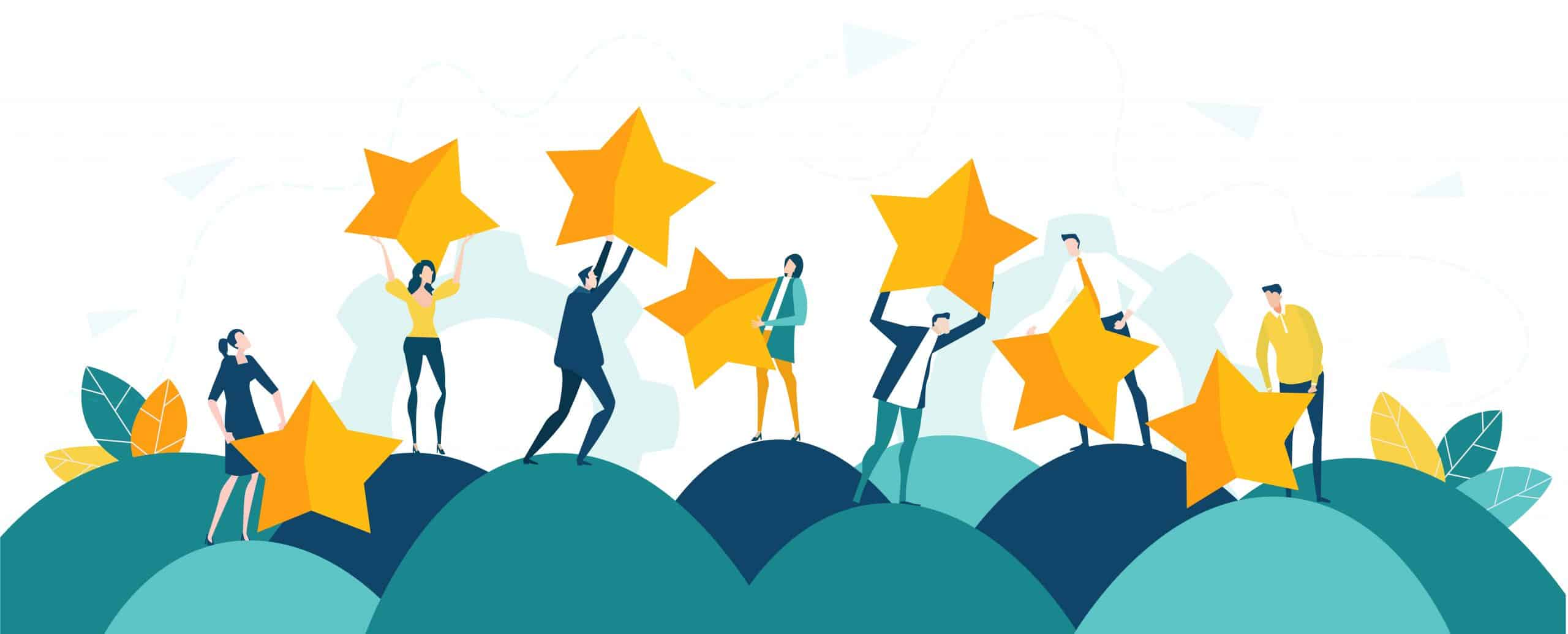 Improve your ranking and get more review with obenan software